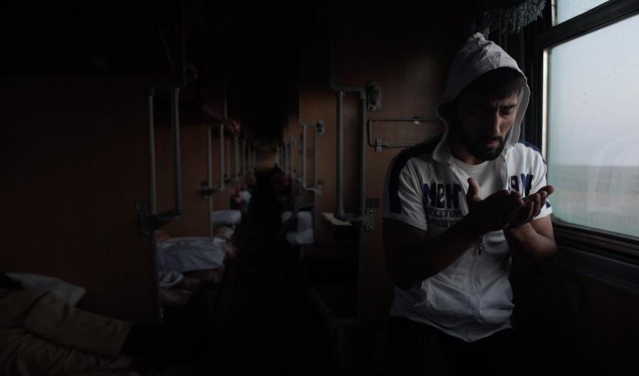 кадр из фильма«Чужая работа», реж. Денис Шабаев