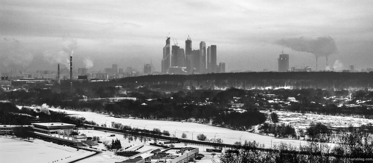 Панорамный вид с Крылатских холмов