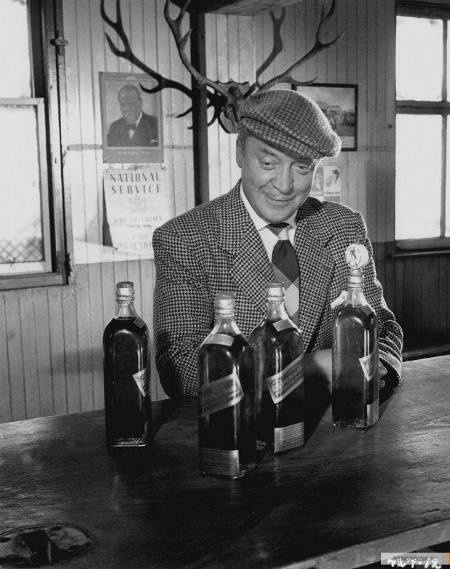 "Кадр из фильма""Whisky Galore!"""