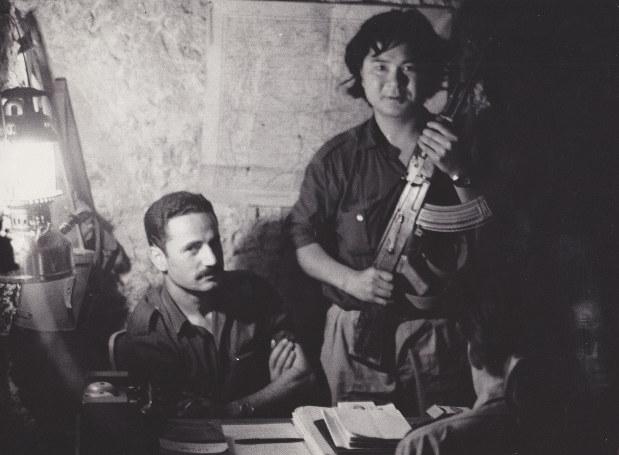 Лидер Народного фронта освобождения Палестины Жорж Хабаш и Кодзи Вакамацу, 1971