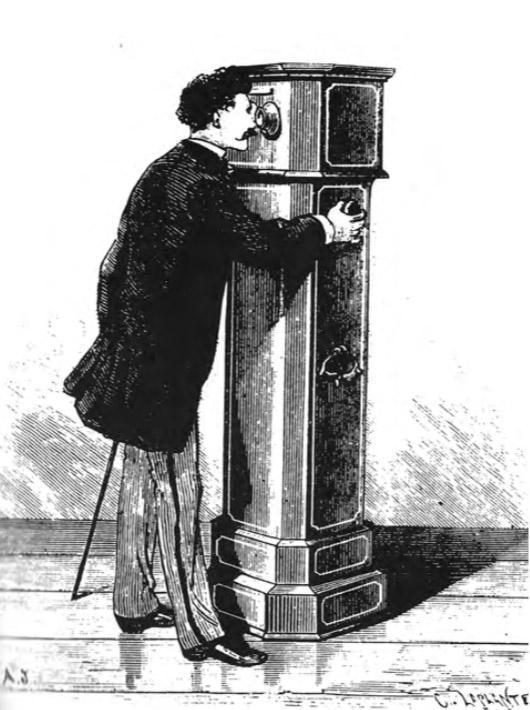 Колонный стереоскоп, 1870-е.