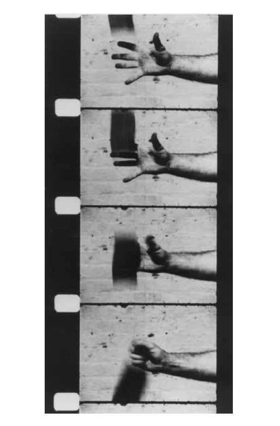 Ричард Серра. «Рука, ловящая свинец». 1969