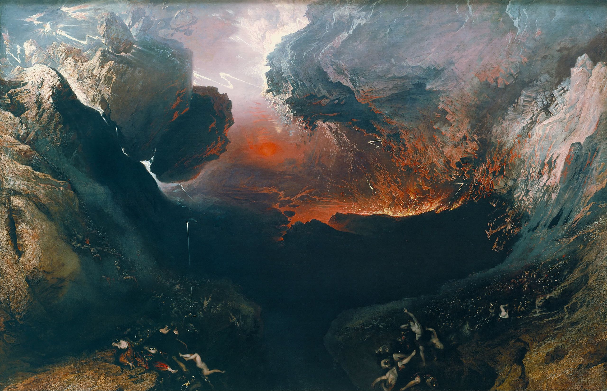 John Martin. The Great Day of His Warth. 1853