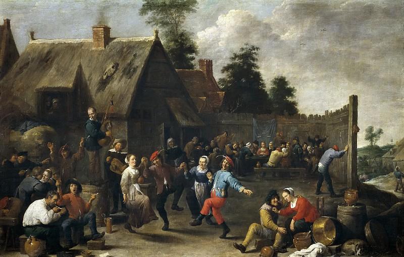 Давид Тенерс Младший. «Кермесса». 1637