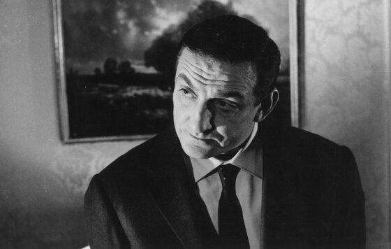 """Лино Вентуро. Кадр из к/ф """"Дядюшки-гангстеры"""" (1963)."""