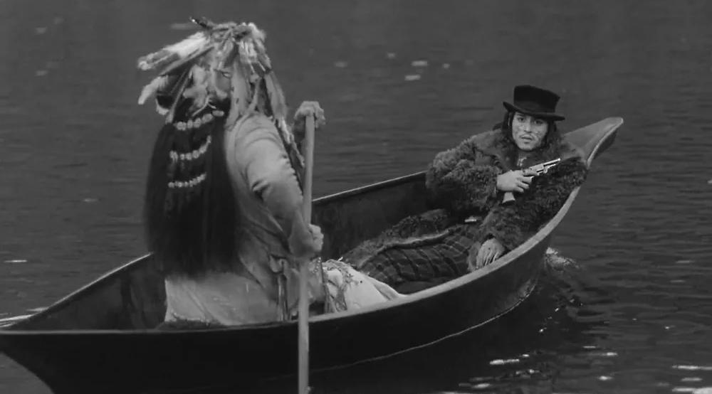 Кадр из фильма «Мертвец» (Dead Man). 1995. США. Реж. Джим Джармуш