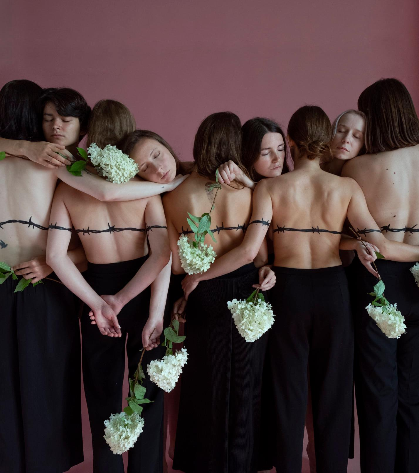 Моц, каханне, свабода - Евы Беларусi 🌺. Ph&Idea: Anna Kosobutskayaю ShotArt: Nadya Sayapina. Location: Фотостудия Ind