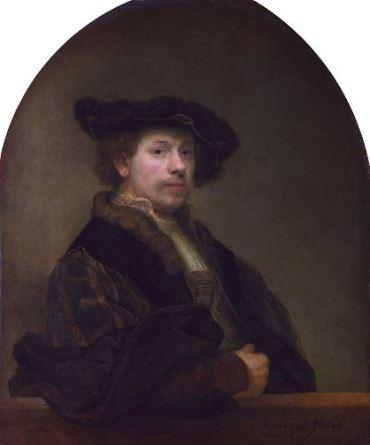 Рембрандт Харменс ван РейнАвтопортрет1640 г. Национальная галерея, Лондон