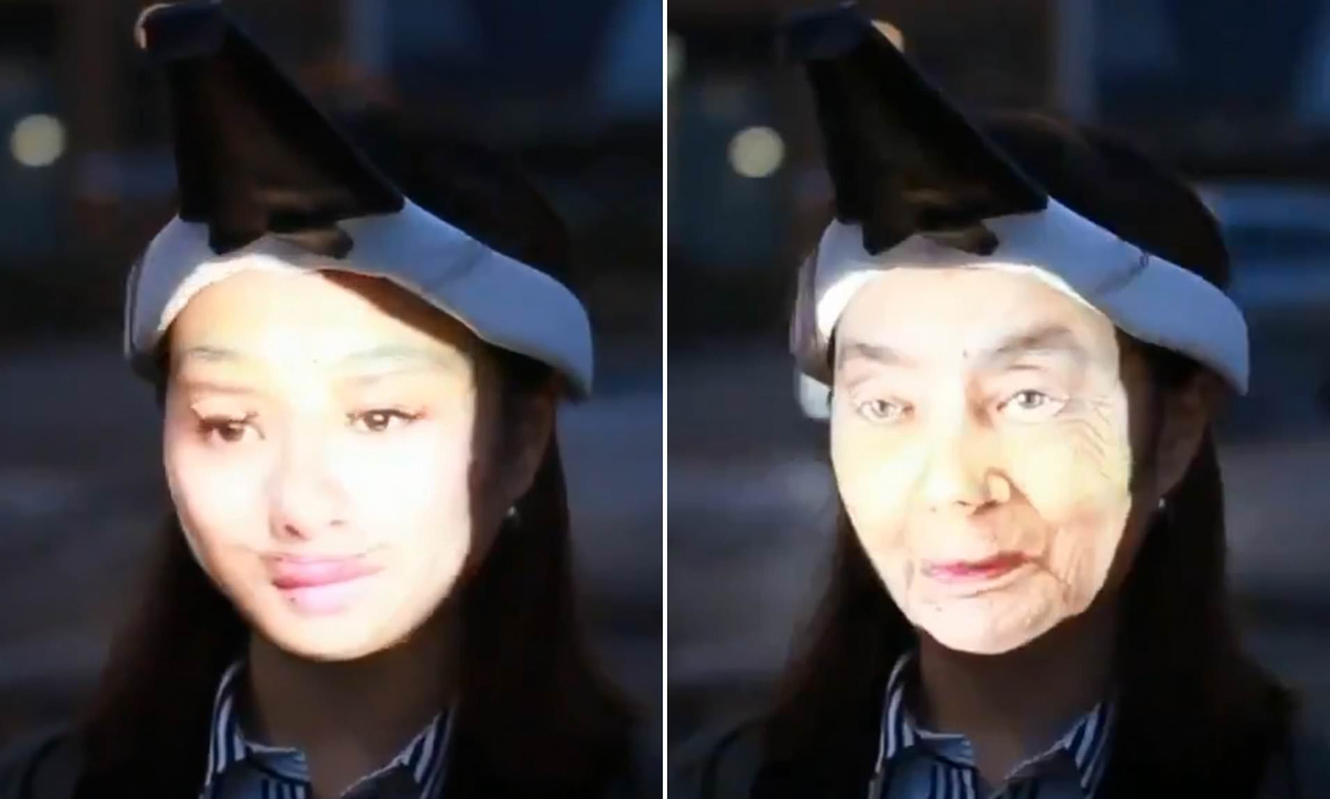 Специальный проектор лица для обмана системы камер оснашенных технологией распознования лиц