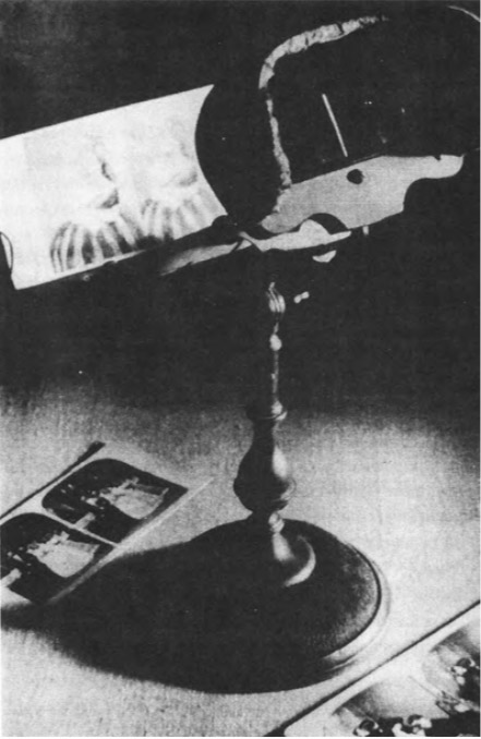 Стереоскоп Холмса, 1870-е.