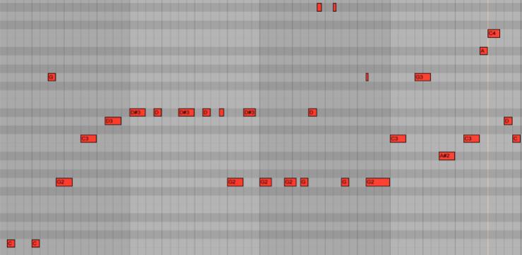 <b>Пример 5: вариант построения текучего баса</b>
