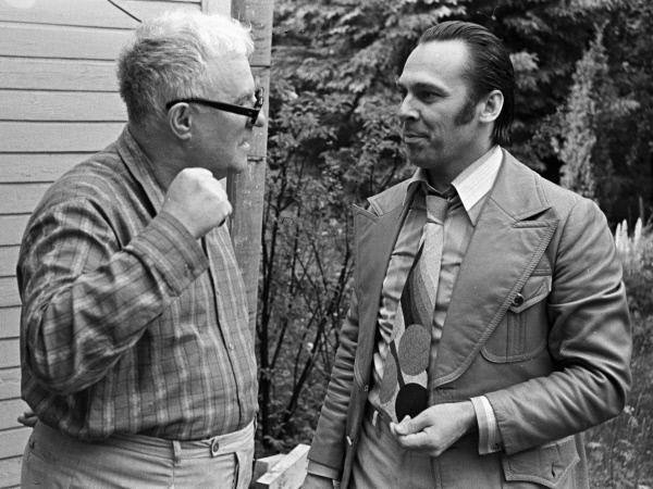 Георгий Свиридов и Владислав Пьявко