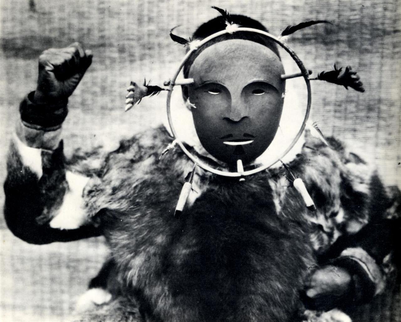 Эскимосская церемониальная маска