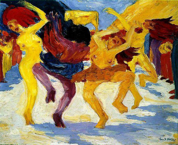 Э.Нольде. Танец, 1910