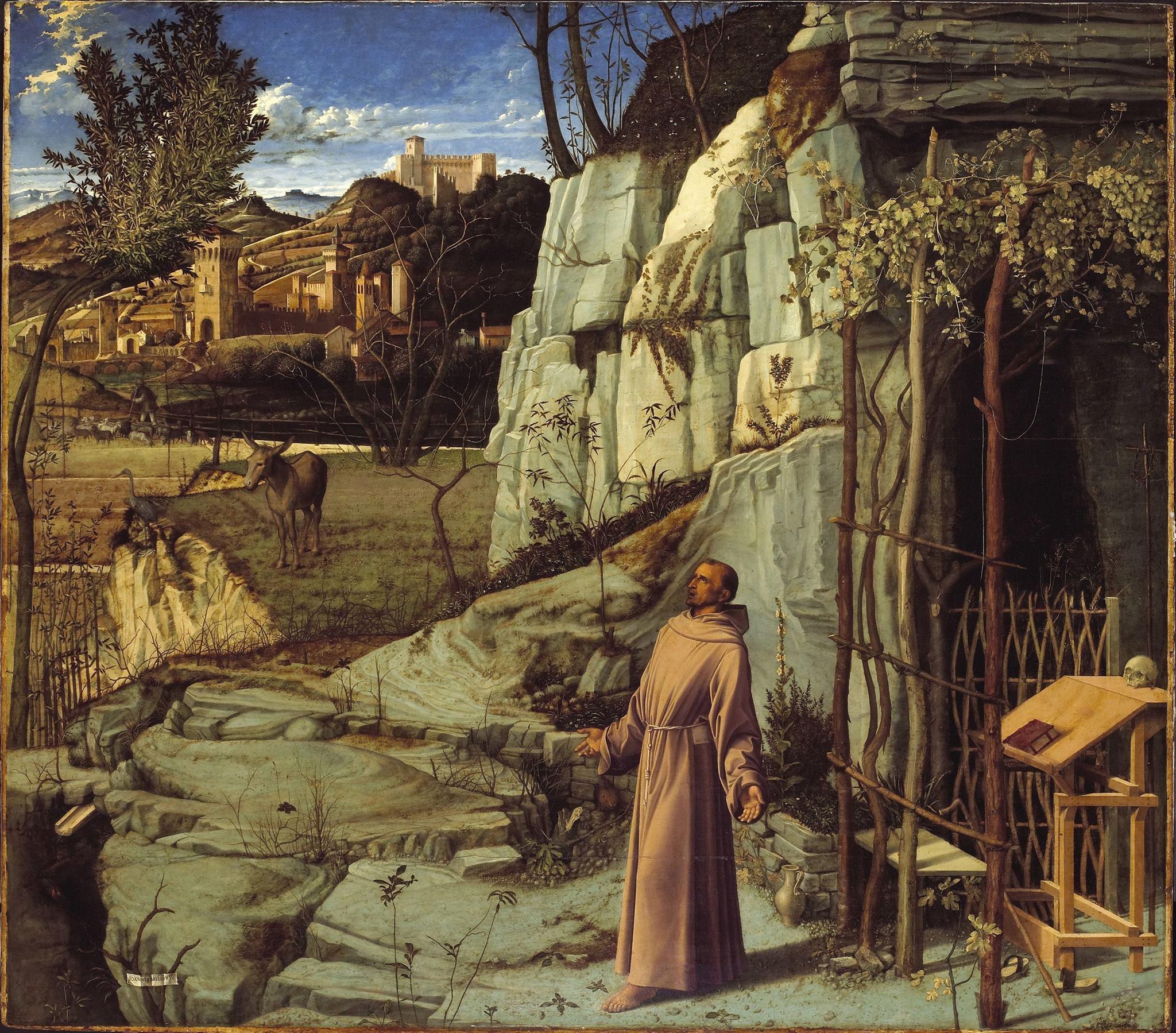 Giovanni Bellini, St. Francis in Ecstasy (1475-1480)