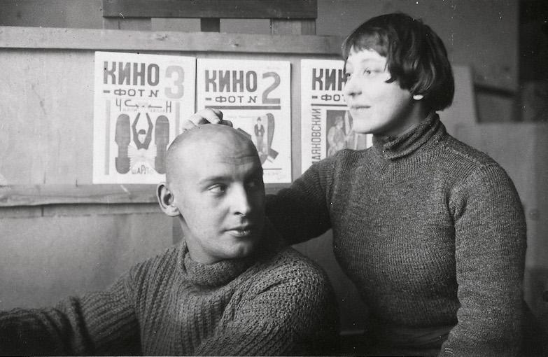 Александр Родченко и Варвара Степанова.1920 год