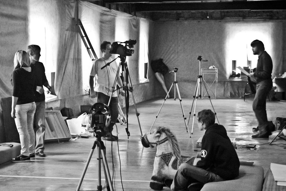 Рабочий процесс, видео-лаборатория «Кинопробирка», Лаборатория Современного искусства, 2012