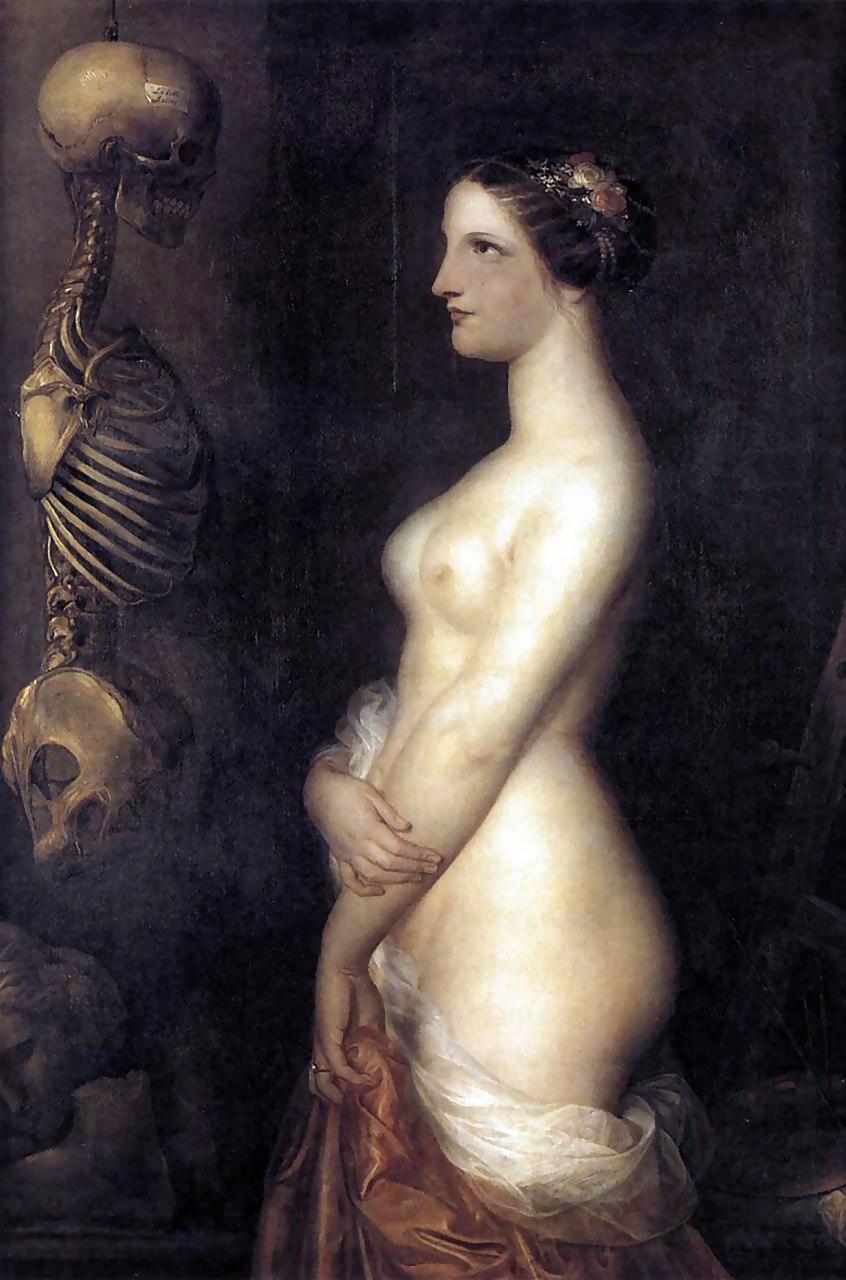 Антуан Вирц. Две девушки, или Прекрасная Розана. 1847