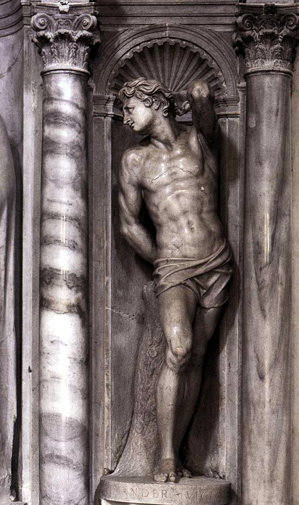 Алессандро Витториа. Святой Себастьян. XVI в.