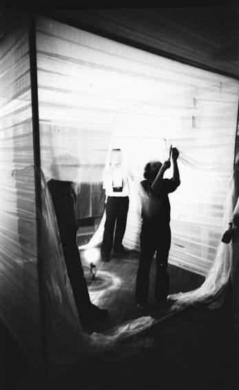 """ТОТАРТ. Перформанс/инсталляция """"Белый куб"""", 1980"""