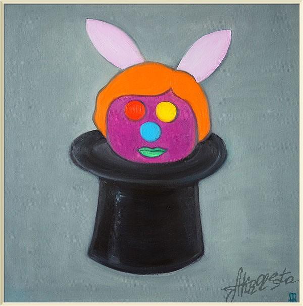 Портрет шляпы Джона Энтони Бальдессари