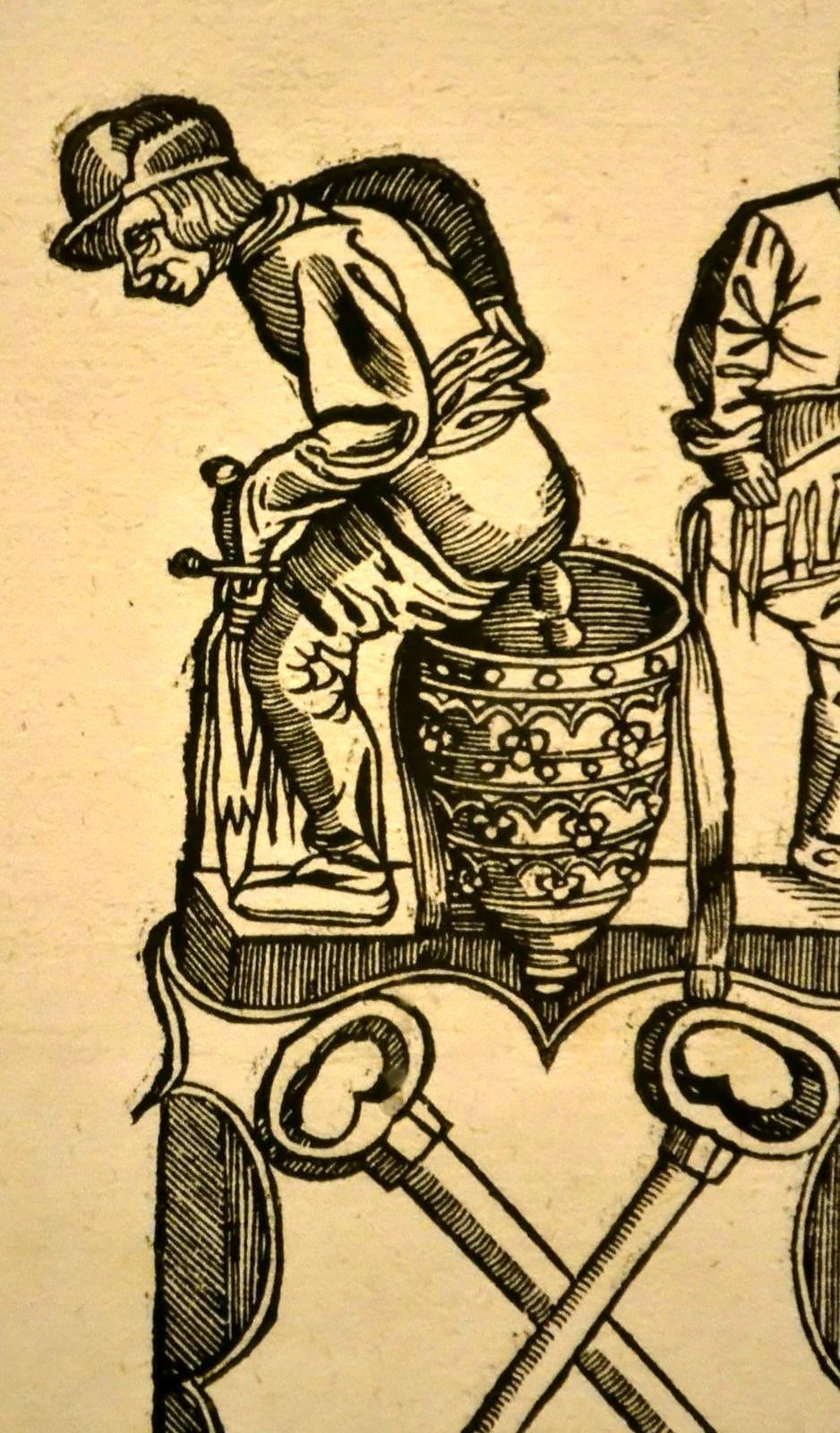 2. Последователь Лукаса Кранаха. Поклонение папе, земному богу. Ок. 1545.