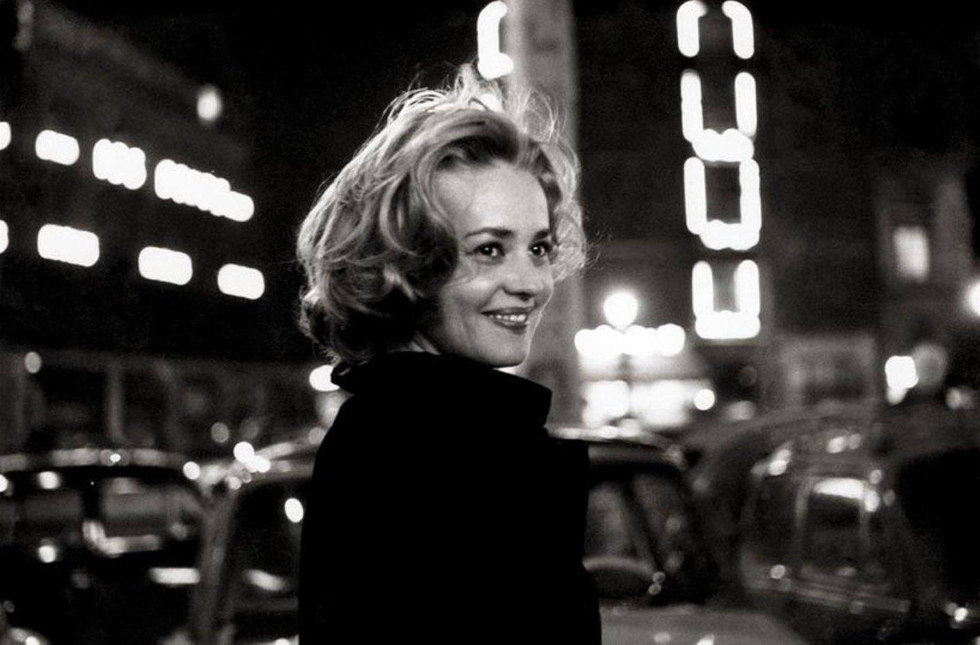 Жанна Моро и труба Майлза Дэвиса в фильме «Лифт на эшафот» (1957)