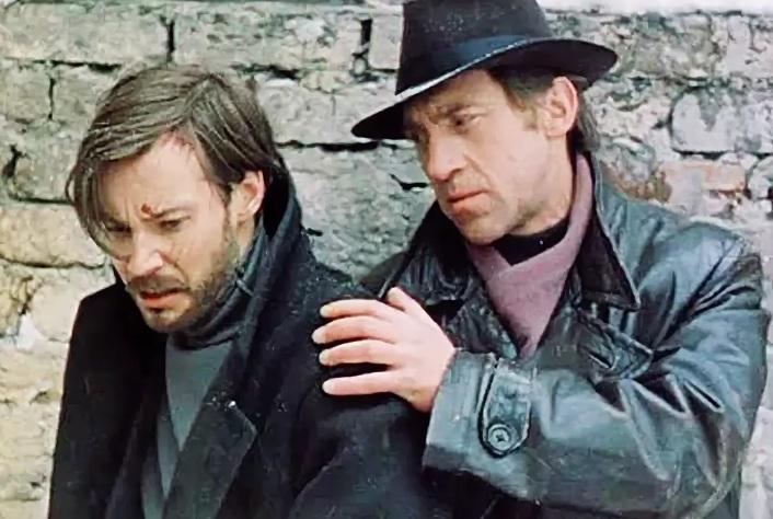 """Кадр из фильма """"Место встречи изменить нельзя"""", 1979"""