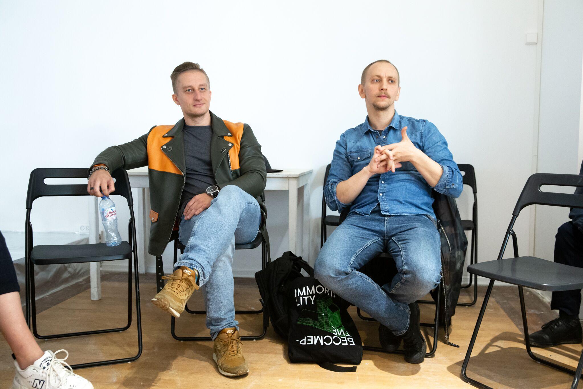 Слева направо: Сергей Мохов, Евгений Кучинов