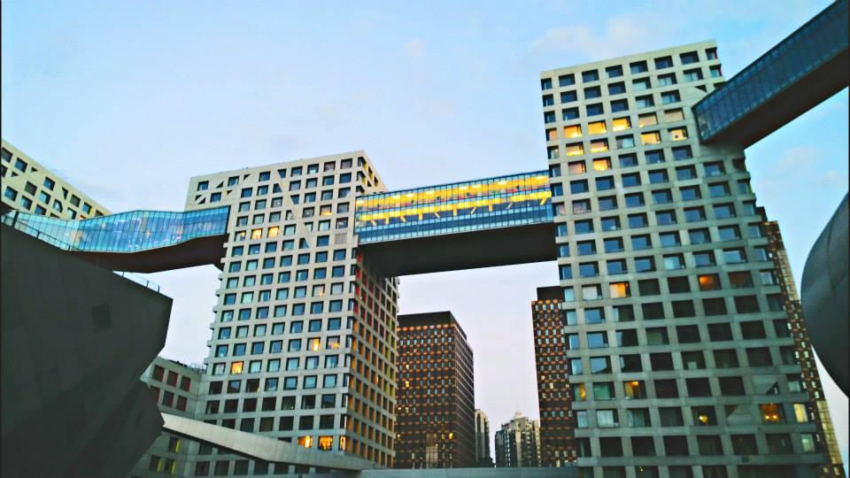 Linked Hybrid, Beijing. Steven Holl Architects. Фото автора