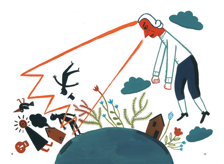 Иллюстрация к книге «Безумный день профессора Канта»