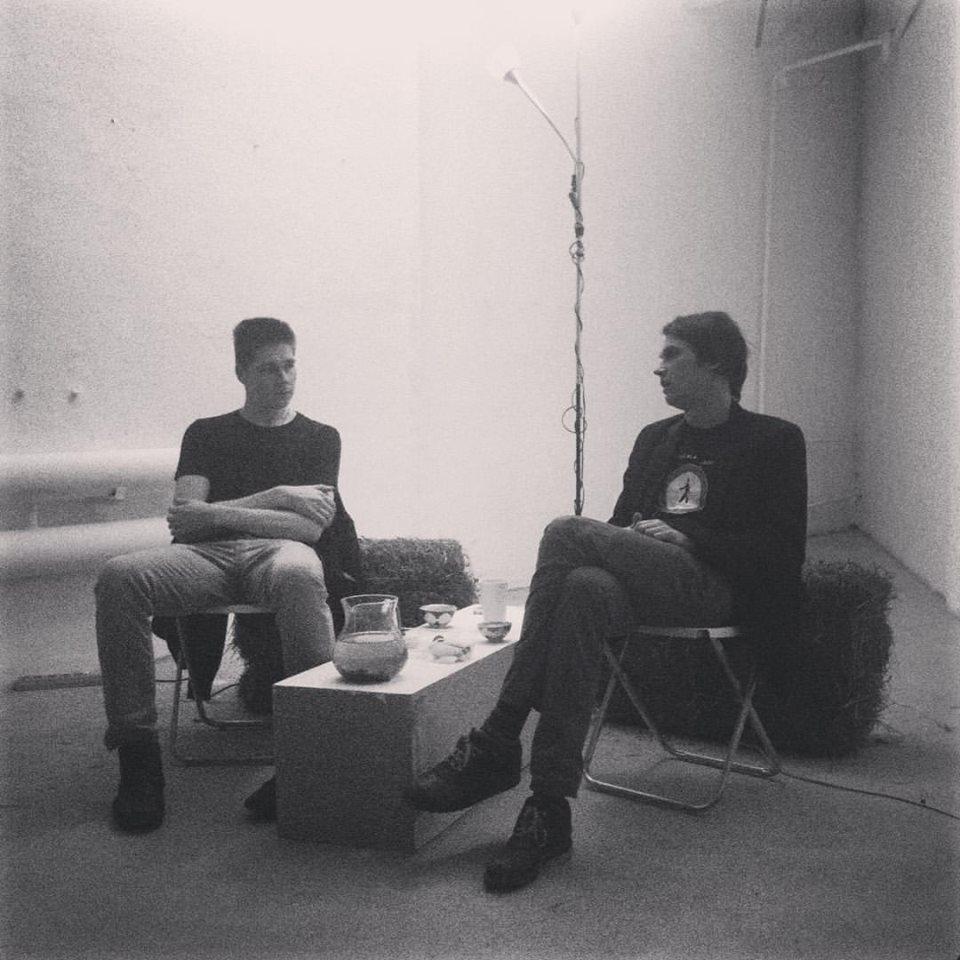 Встреча с Валентином Дьяконовым в рамках «Кураторского чердака», 2015 // Фото: Сона Степанян