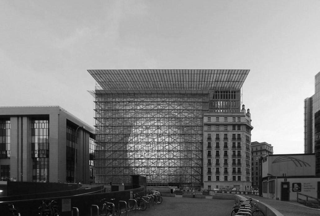 Здание Европейского совета. Брюссель, Бельгия.