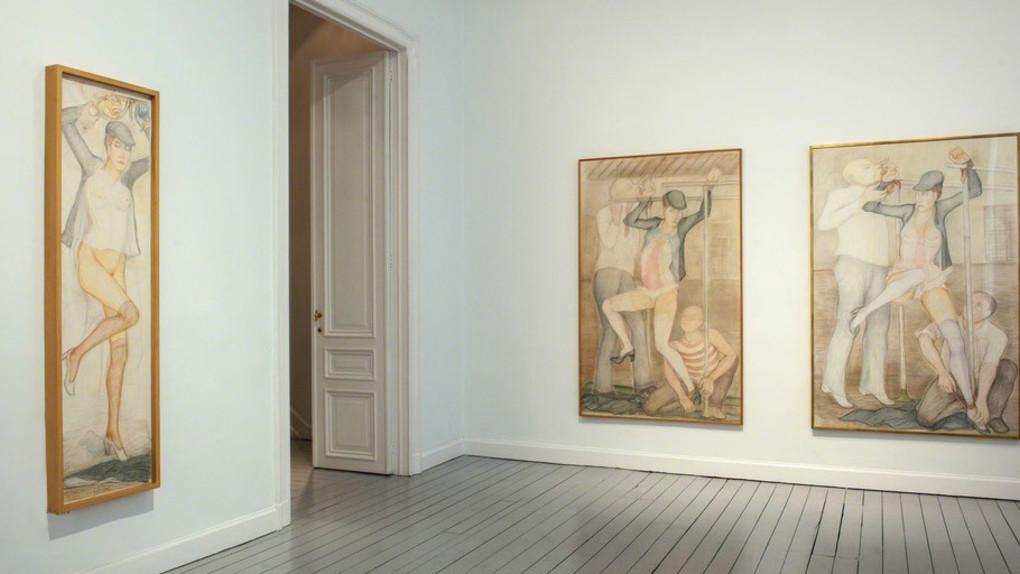 Экспозиция художественных работ Пьера Клоссовски. Галерея Gladstone, Нью-Йорк (2018)