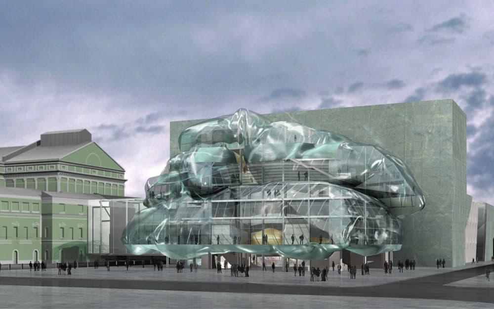 Проект реконструкции Мариинского театра Эрика Мооса, Санкт-Петербург © republic.ru