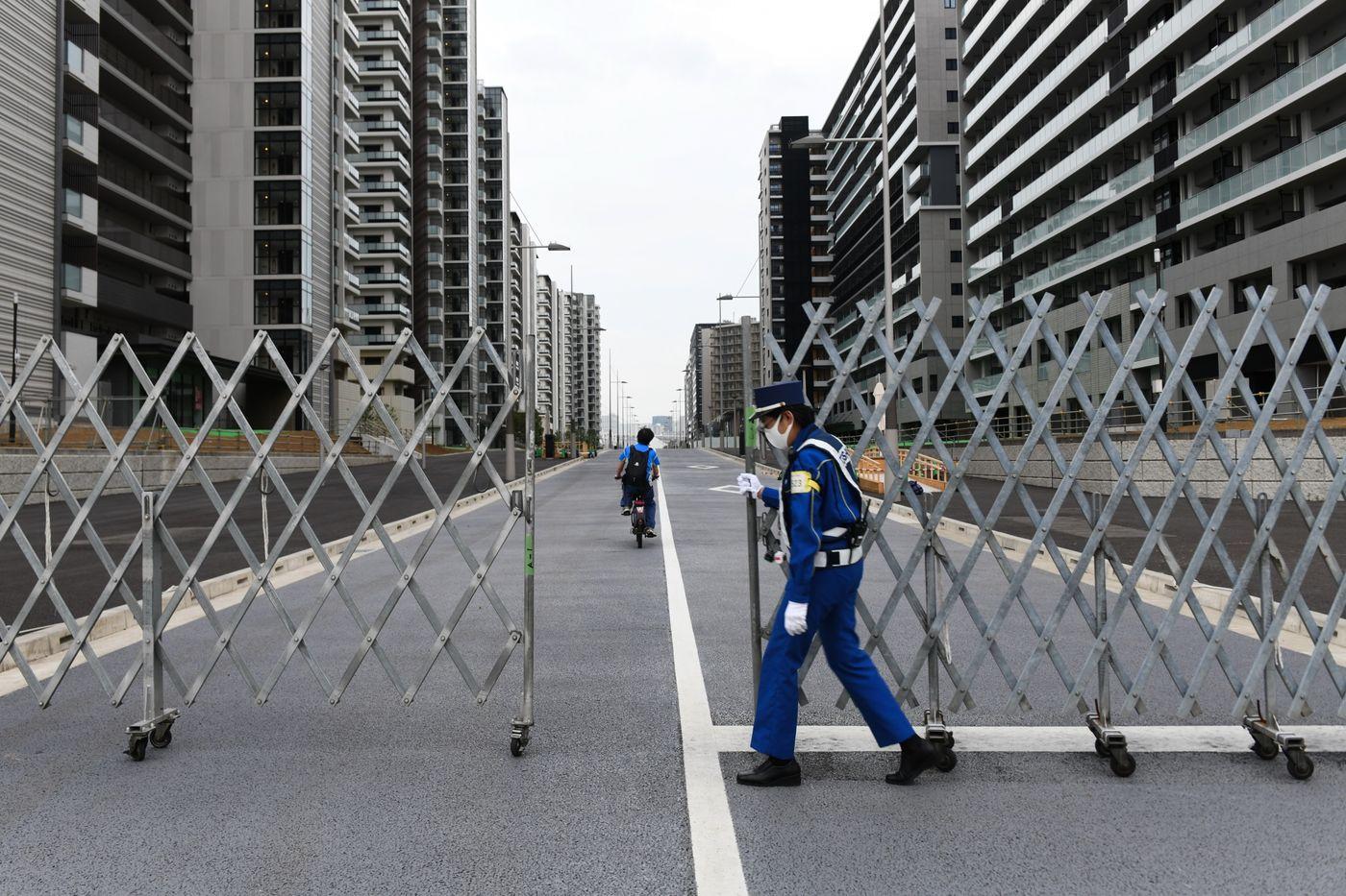 Олимпийская деревня на карантине