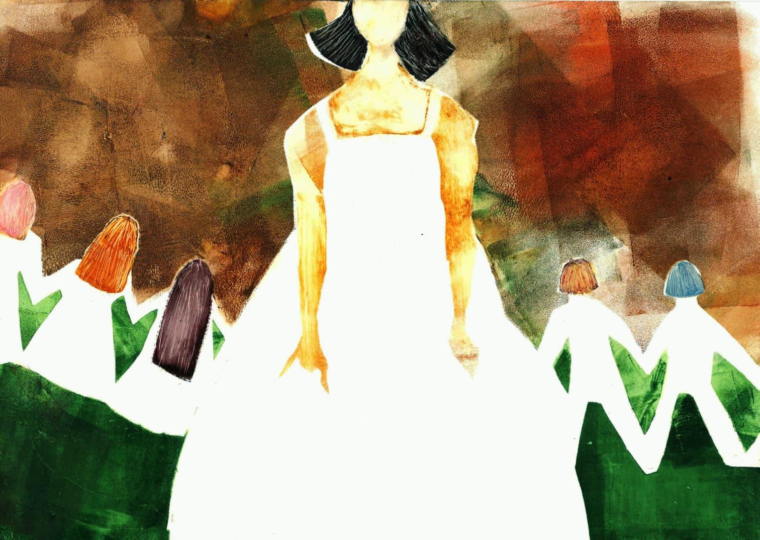 Иллюстрации Ксении Чарыевой