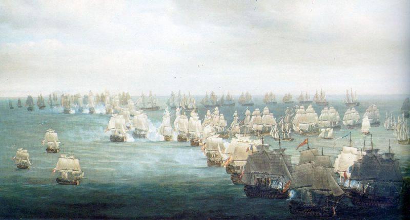 """Великобритания долго считалась """"Владычицей морей""""."""