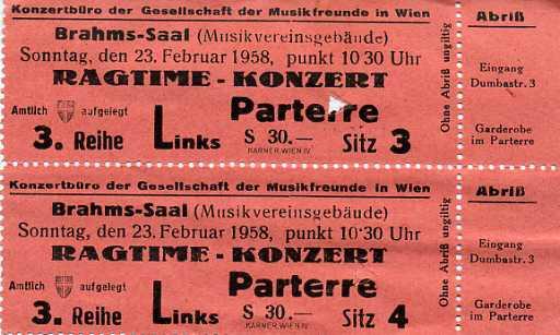 Регтайм в зале Брамса! Билет на джаз - билет в новые времена. Скачайте, распечатайте и присоединяйтесь :)