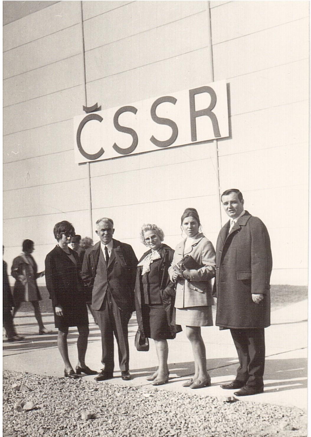 Чехословаки в 1972 году