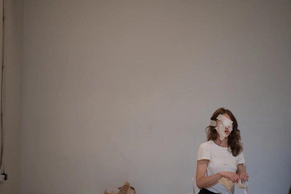 Перформанс «Что вообще происходит?» Студия перформативных искусств Сдвиг, 29 июня 2019 года. Фотография Стаса Павленко