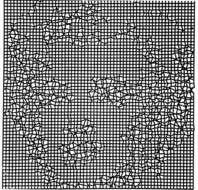 CTG. «Monroe in the net». 1967-1968