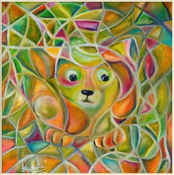 <i>Мозаичный кот</i>