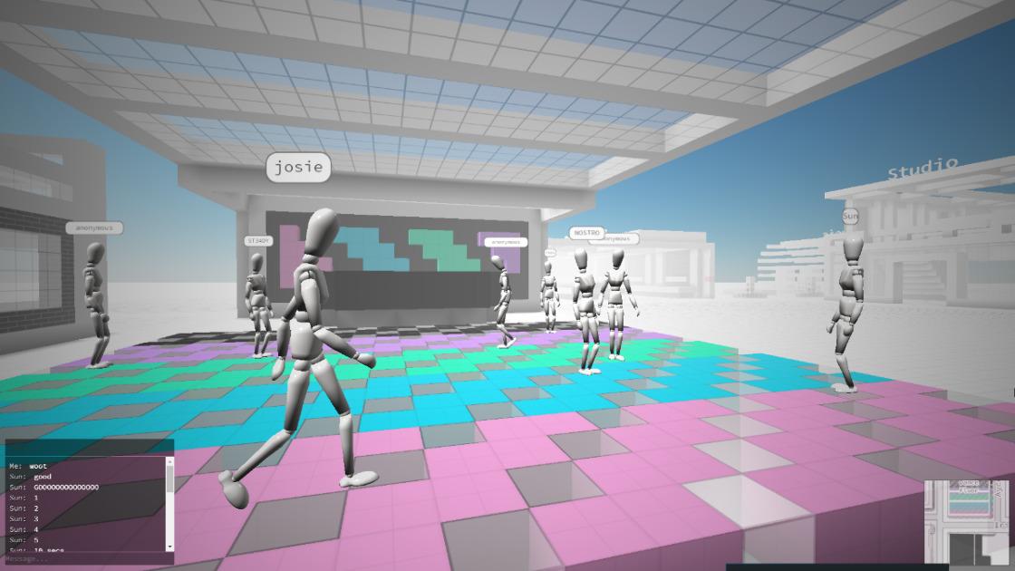 Cryptovoxels - 3D мир на основе блокчейна Ethereum.