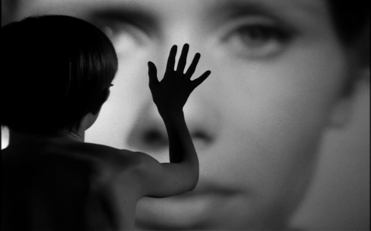 кадр из фильма «Персона» Ингмара Бергмана (1966)