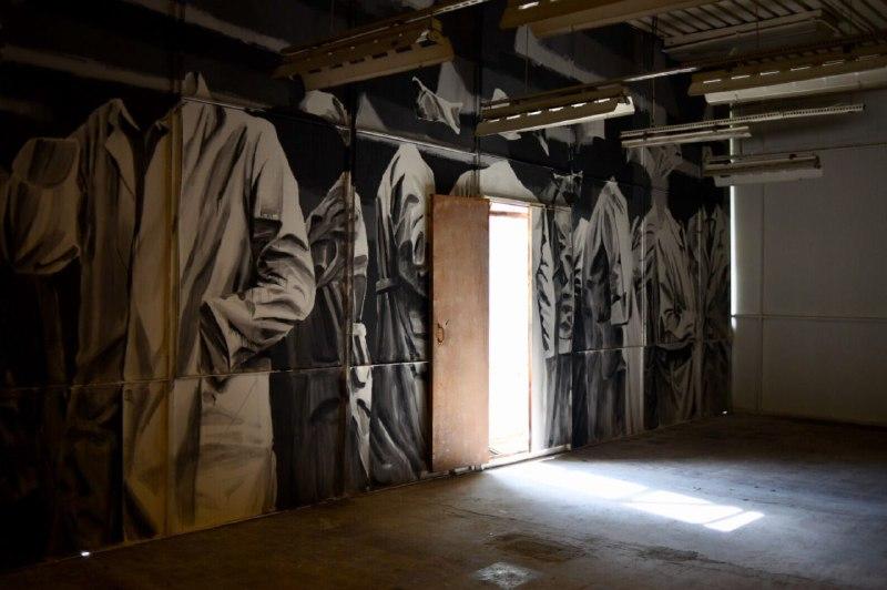 Фрагмент работы Андрея Оленева для исследовательского проекта 5-й Уральской индустриальной биеннале; фото — Ural Biennial