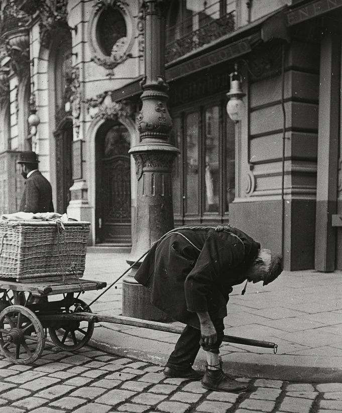 Вена начала 20 века. Фотограф - Эмиль Майер