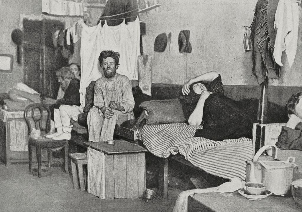 1911, квартира на несколько семей в Москве.