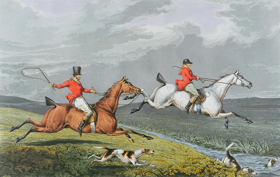 <i>Чарльз Бентли (Charles Bentley),Full Cry, from Fox Hunting, 1828 год</i>
