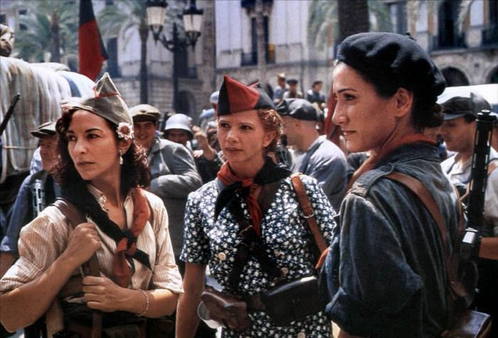 Кадр из фильма «Анархистки» (Libertarias). 1996. Испания. Реж. Висенте Аранда